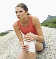Травма, как причина бурсита