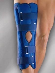 Ортез при отеке коленного сустава