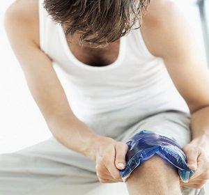 Помощь при болях в коленном суставе