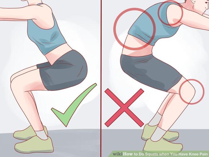 Что делать если болят колени при приседаниях лечение