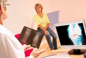 Рентгенограмма для диагностики разрыва связок коленного сустава